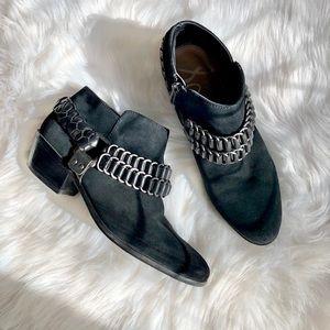 Sam Edelman Chain Ankle Boots